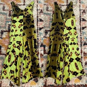 One Teaspoon All Hallows Jumpsuit in Green